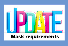 Graphic for Mask Requirement Update