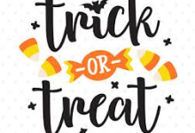 Trick or Treat with Candy Corn